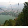 Teleférico y lago de Amatitlán