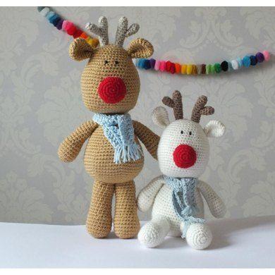 ❤️ Crochet Reindeer Toy ❤️
