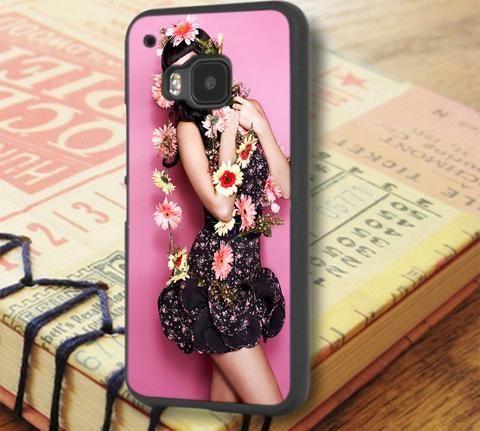 Katty Perry Beautiful Flowers HTC One M9 Case