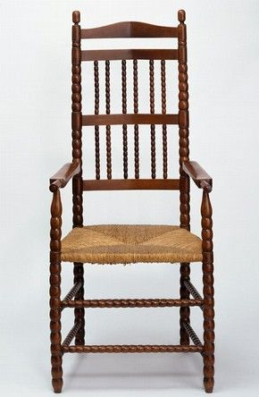 Armchair, Ernest William Gimson, about 1905. Museum no. CIRC.231-1960