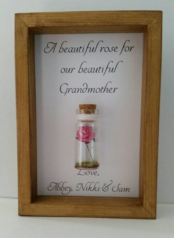Gift For Grandmothers Grandmother Gift Birthday Thank