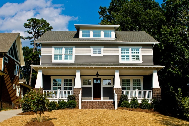 49 best north carolina homes images on pinterest for Craftsman homes in charlotte nc