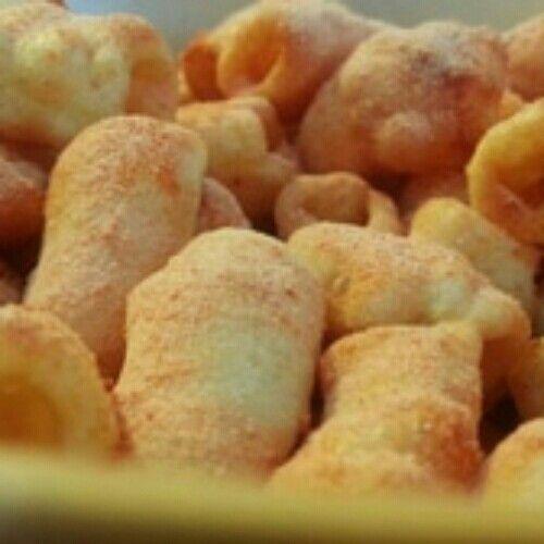 Kerupuk Macaroni Bumbu rasa BBQ Renyah dan Gurih, sangat asik di nikmati saat santai, atau sedang nonton tv.   Silahkan menikmati hidangan cemilan ini dengan bumbu rasa BBQ yang lezat. Rp 18.000 Netto : 185 Gram  Terima Kasih.