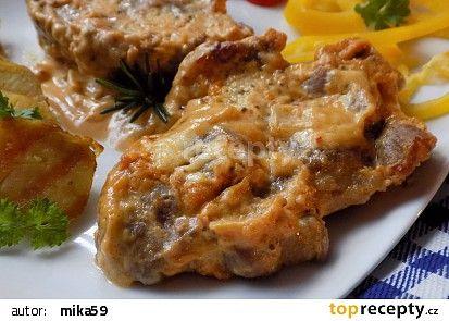 Krkovička pečená ve steakové hořčici recept - TopRecepty.cz