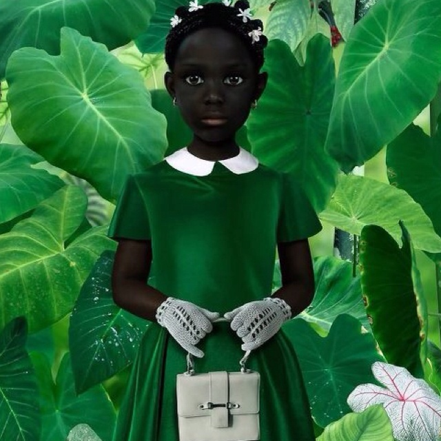 Dutch artist Ruud van Empel. His medium is photo/collage.#Repin By:Pinterest++ for iPad#