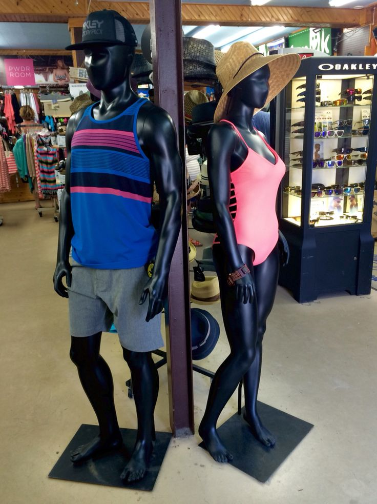 Sunday funday outfits! Head to toe Oakley on him and Body Glove on her. Ready to hit the beach! #summerstyle #beachfashion