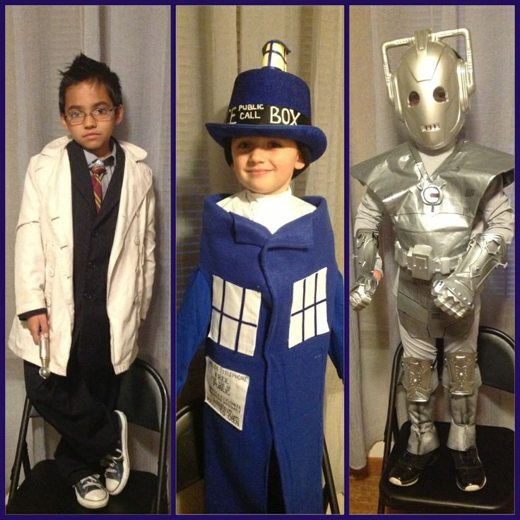 doctor who costumes my boys in their halloween costumes this year - Kids Doctor Halloween Costume