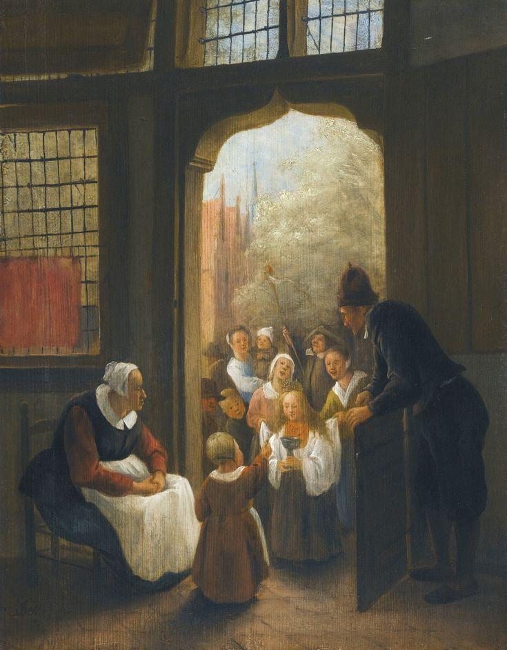 Jan Steen - Pinksterbloem