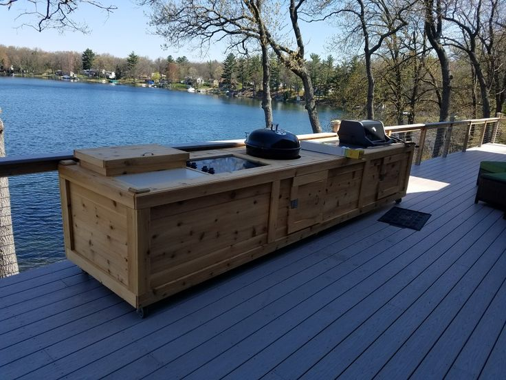 Best 25 Weber Charcoal Grill Ideas On Pinterest Outdoor Countertop Built In Braai And Grill