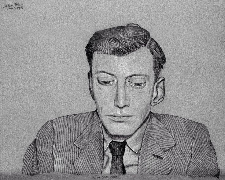 Lucian Freud - Self Portrait, June 1945