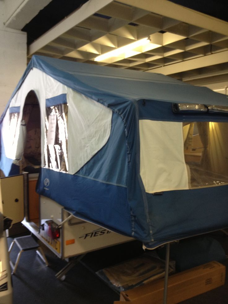 Our new pop up camper.