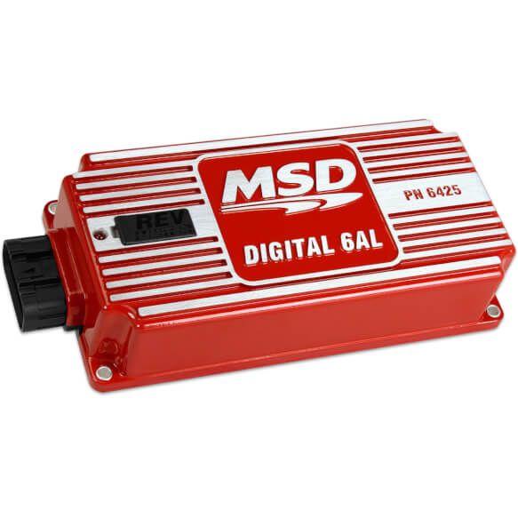 Msd 6425 Digital 6al Ignition Control Ignite Digital Chevy Ls