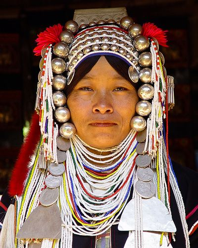 Akha tribal lady, Thailand | Flickr - Photo Sharing!