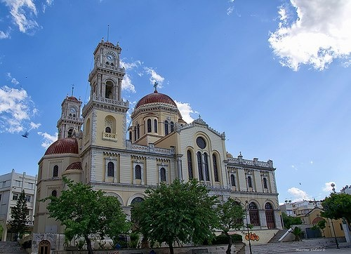 Saint Minas Cathedral Heraklion Crete