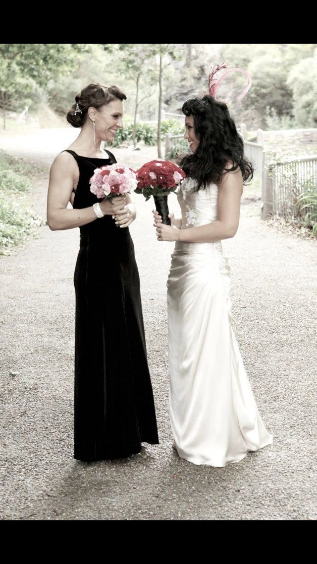 My sissy, my maid of honor