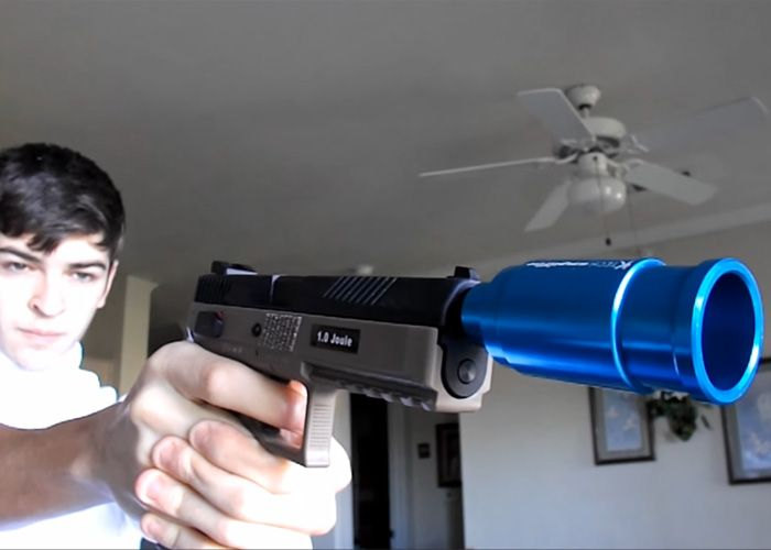USAirsoft: ASG CZ P-09 CO2 Review