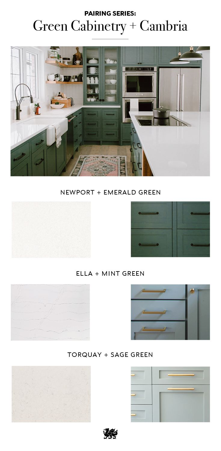 Refine Define 7 Gorgeous Green Kitchens Green Cabinets Farmhouse Kitchen Remodel Green Kitchen