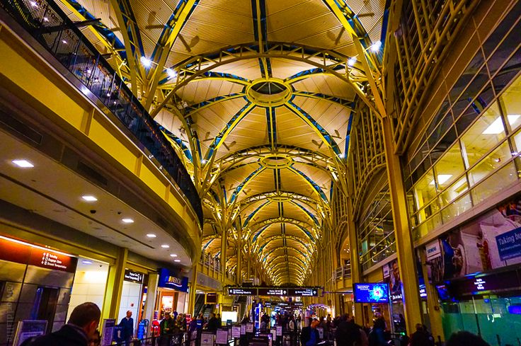 "From my article, ""What Makes a Popular Article?"" Photo: Reagan Airport  in Washington, D.C. Isn't it grand?"