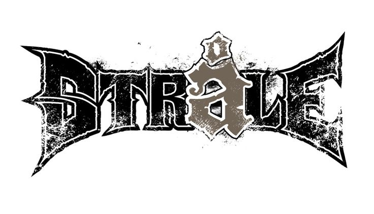 Logo design for band Stråle
