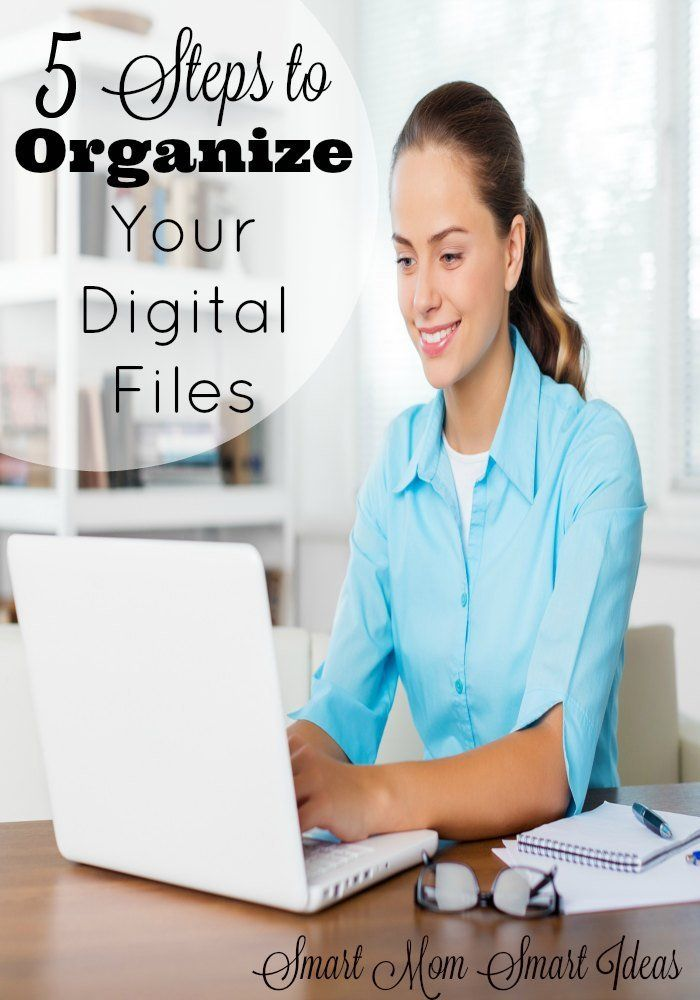 Are you overwhelmed with too many digital files? Digital photos, digital books, email, everything is digital. Do you have a system to organize your digital life? Start with these 5 steps to organize your digital files.