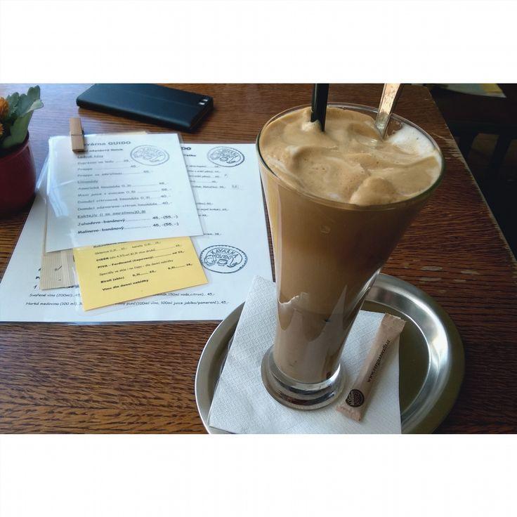 Quido #coffee #coffeelove #iced #macchiato #positive #sunny #coffees #coffeemug #bestshot #earth #pure #freedom #czechrepublic #beautiful #bar #coffeelover #coffeeview #coffeehouse #espresso #cafe #kaffee #kaffeepause #kaffeeliebe #kaffeezeit #kaffeehaus #café