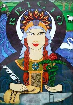 Brigid-La Diosa Céltica del Fuego on Pinterest | Celtic Goddess ...