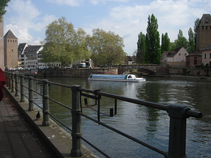 Strasbourg, a bateau mouche