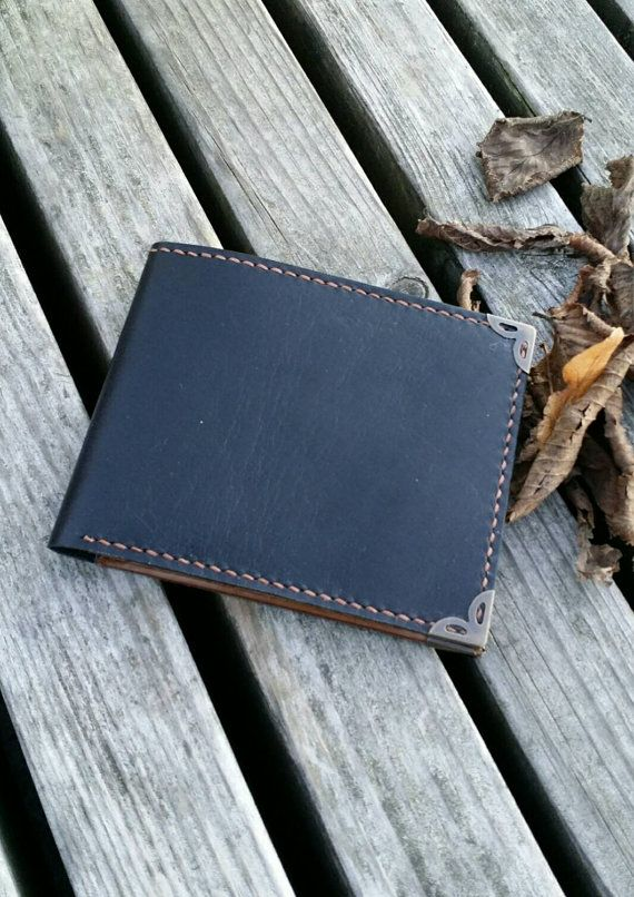 Check out this item in my Etsy shop https://www.etsy.com/nl/listing/256264879/leather-wallet-two-oned-mens-wallet