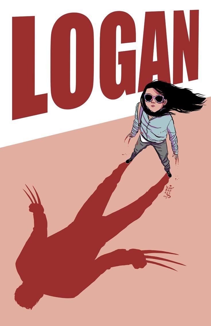 Logan and Laura Kinney (X23!)