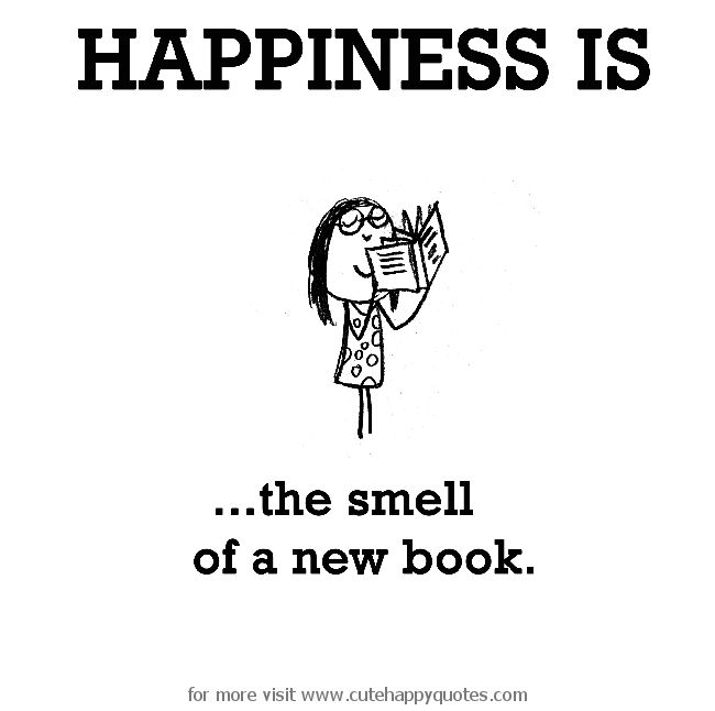 The smell of a new book.