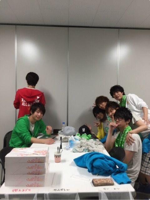 Kiramune boys in Fan Meeting Sendai 2015-07-19