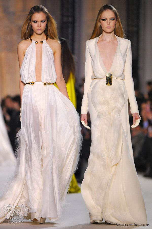 stephane rolland spring 2012 haute couture
