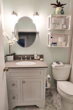 Best 25+ Small bathroom decorating ideas on Pinterest Bathroom - decorating ideas for small bathrooms