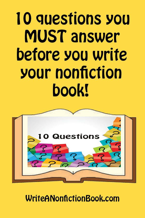 What you need to know before you write your book and how to overcome obstacles that get in the way.