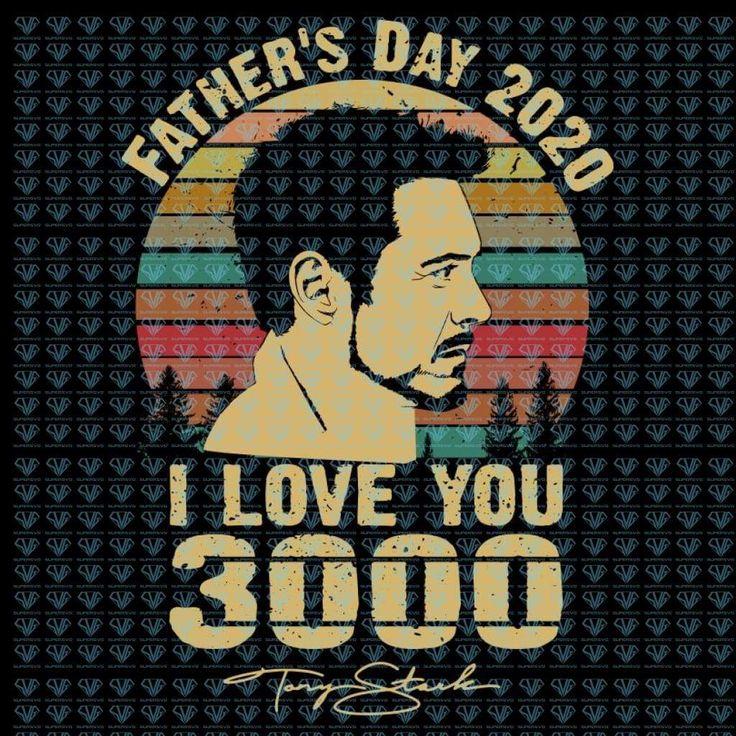 Download Father's Day Svg, I Love You 3000 Svg, Marvel Svg, Png ...