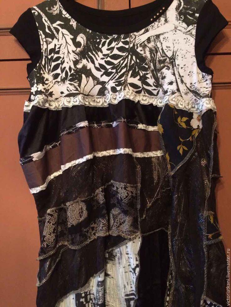 """Купить Платье в стиле бохо """"Скоро лето"""" - комбинированный, орнамент, платье в стиле бохо"""
