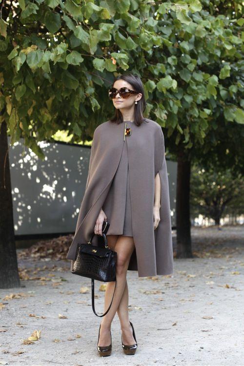 Cape Dress (I love capes!).