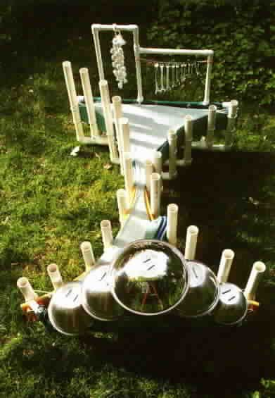 PVC Pipe Instrument. I Want To Build Something Like This For The Back Yard.