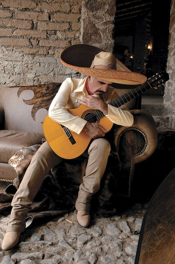 "Vicente Fernandez, Guadalajara, Jalisco Mexico. His repertoire is pure ranchera, a style described as representing ""the Mexico of old – a way of life romanticized by rural ranches, revolution, and philandering caballeros"". He has sold over 65 million copies worldwide."