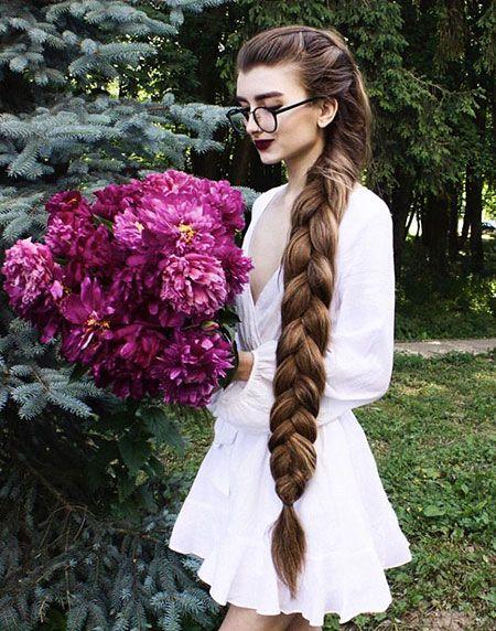 Zopfe fur lange dicke haare