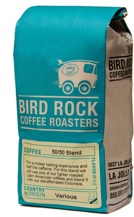 bird rock, packaging design
