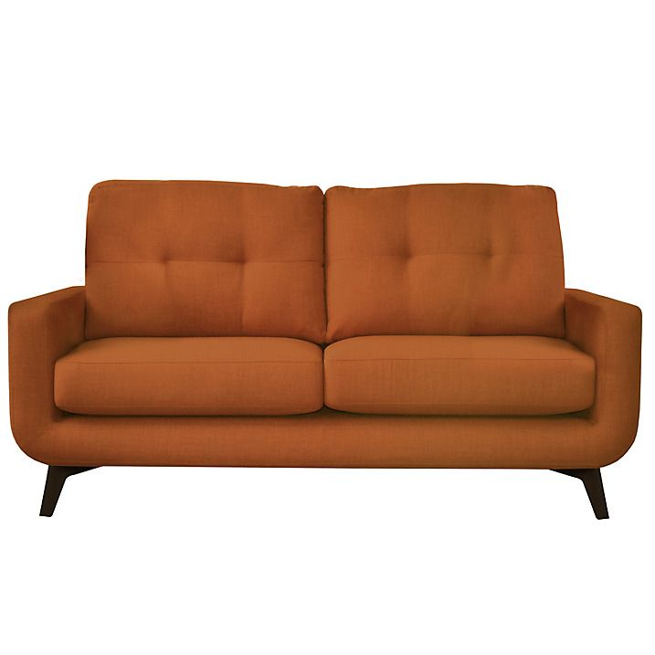 John Lewis Barbican II Medium Sofa, Harris Rust Online