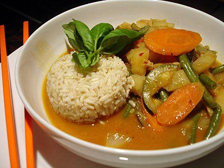 TODAS LAS RECETAS : Curry Vegano Tailandés