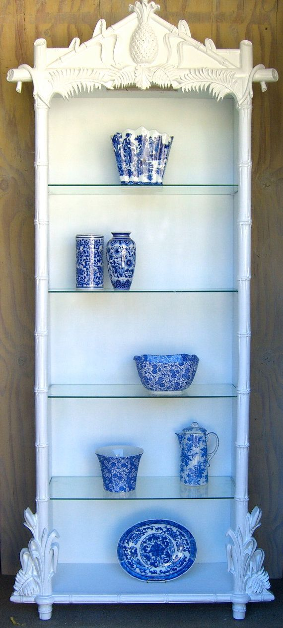 A vintage shelf with gorgeous details.