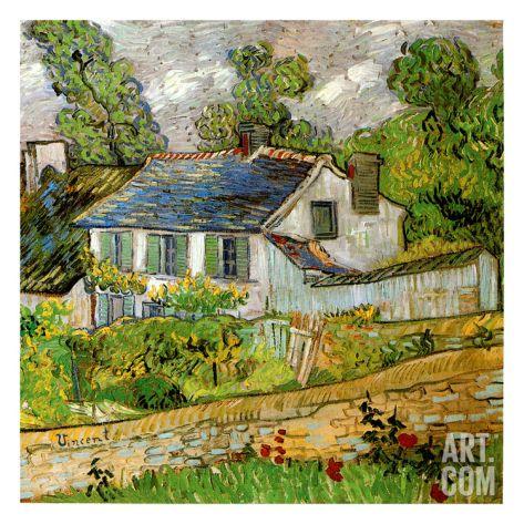 Maison a Auvers Print