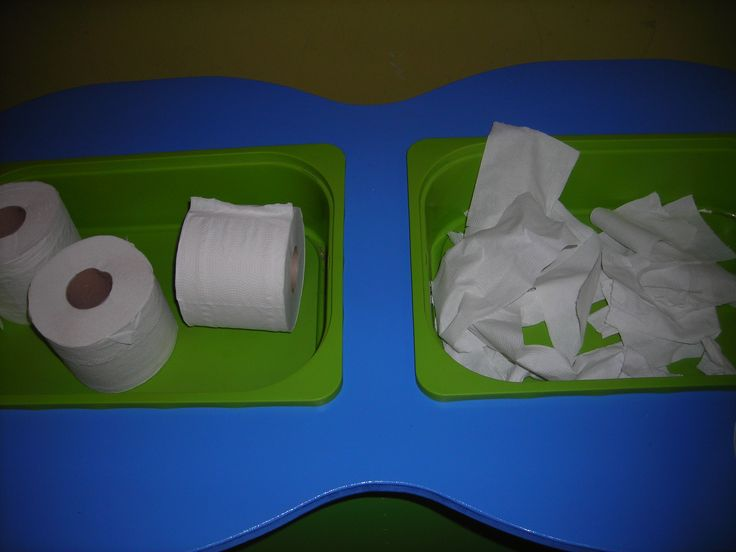 Thema: zindelijkheid: experimenteren met toiletpapier