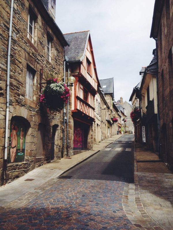 the streets of lannion | france