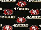 San Francisco 49ers Fabric: New Cotton