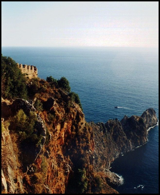 Alanya Castle - Alanya, Turkey. Didn't get to visit it last year, have to go back...