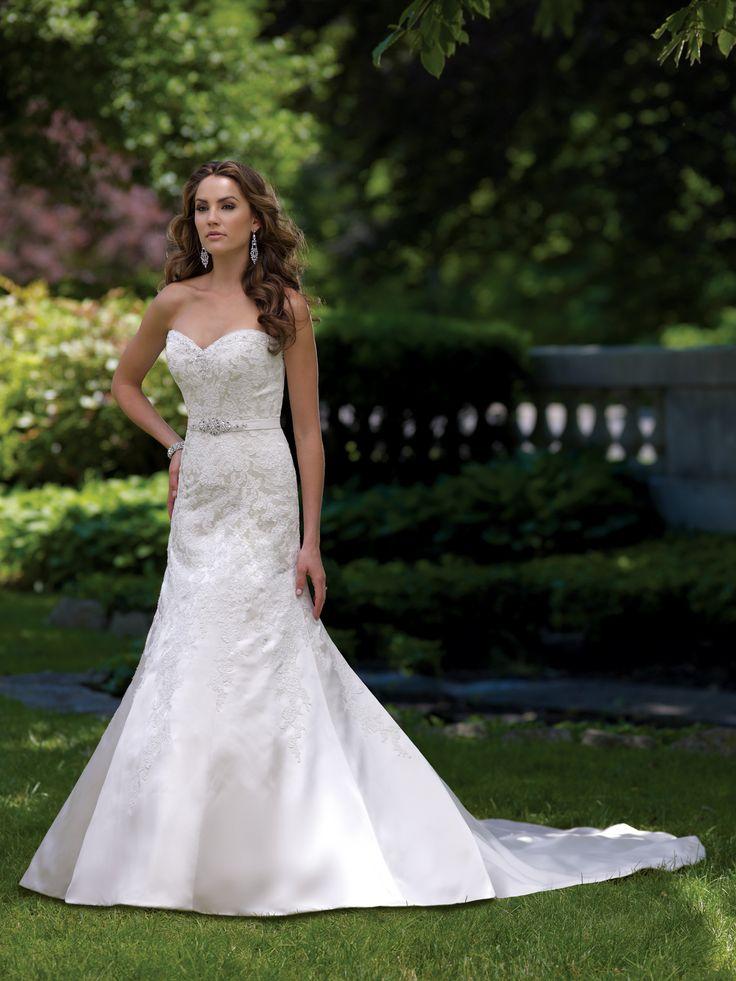 Zetta, David Tutera for Mon Cheri, Wedding Dress